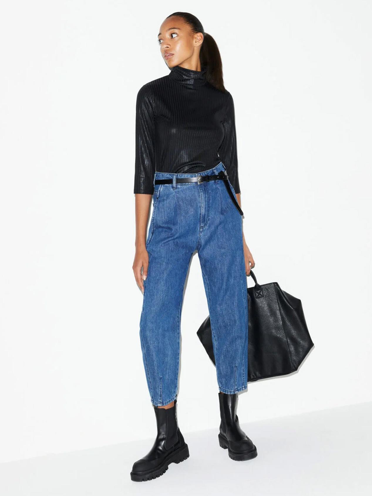 Jeans Barrel Leg Donna