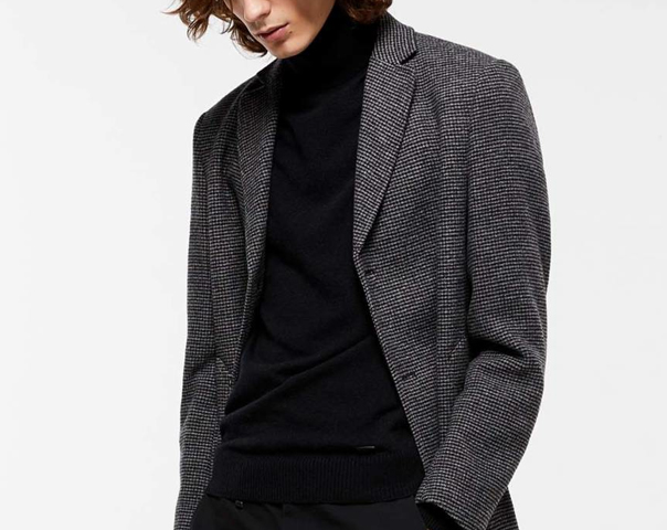 Cappotto slim fit
