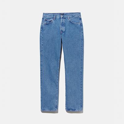 NUOVA linea uomo Boston Regular Fit Nero Jeans Denim Tutte le Taglie