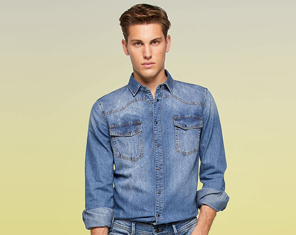 Camicia vintage in denim
