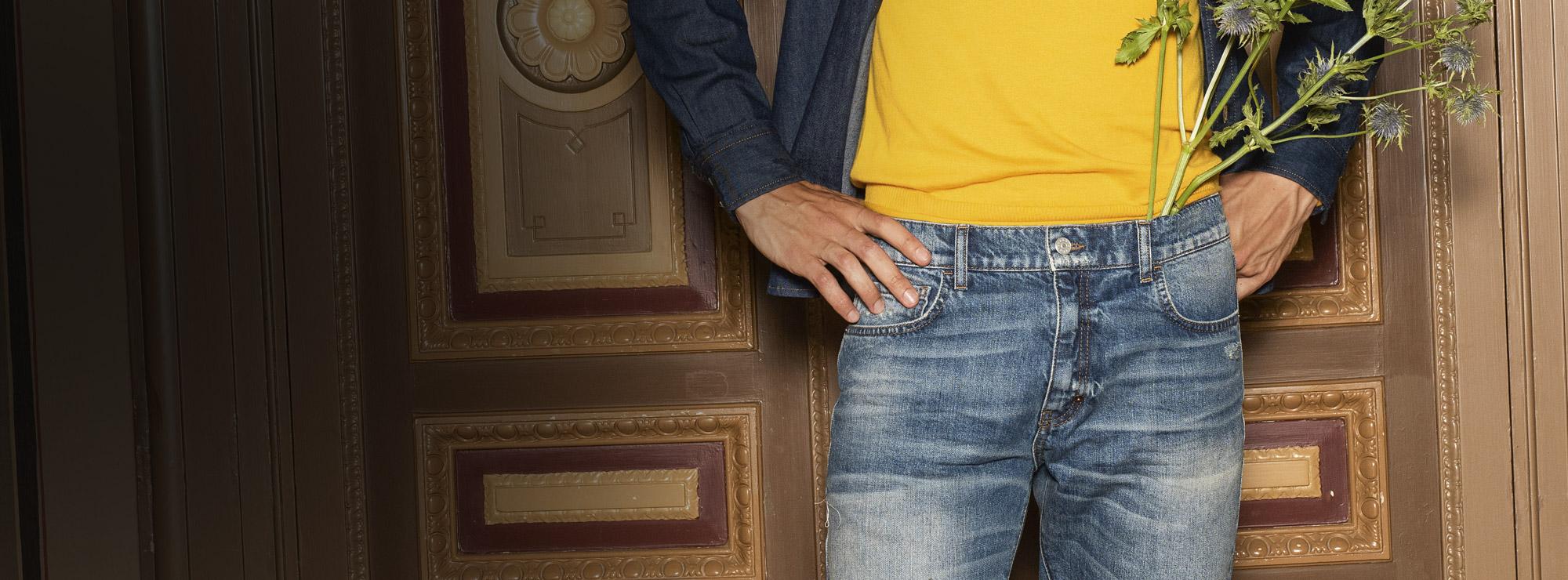53cc80187f Jeans Uomo Nuova Collezione 2019   Sisley